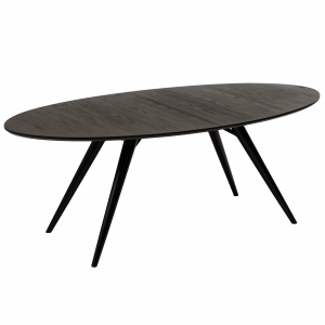DF HANS TABLE OVAL GREY